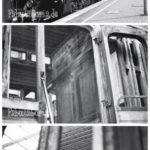 s/w Film: Eisenbahnmuseum