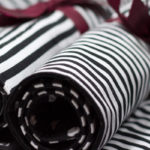 Tischsets black & white