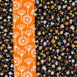 365-Tage/ 52-Wochen-Regenbogenquilt: #9 orange