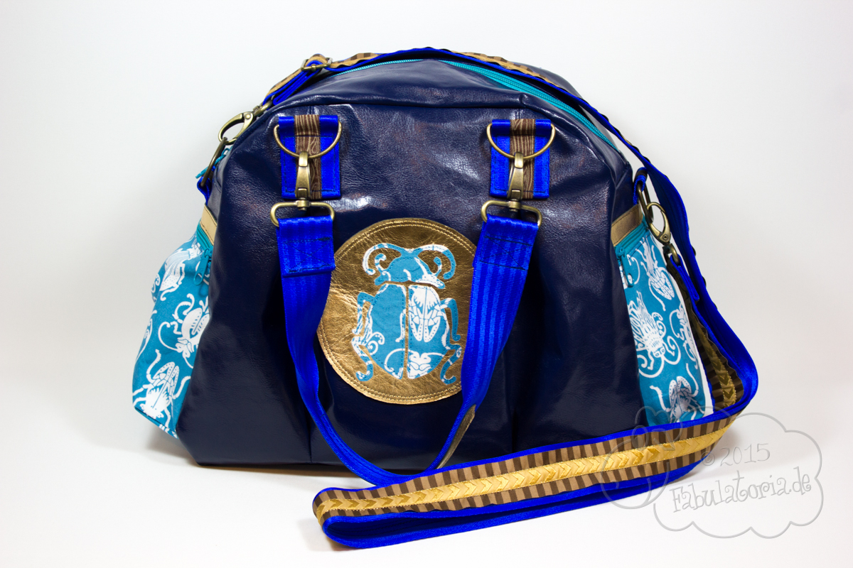 #vTeBSA – Kugeltasche von Farbenmix