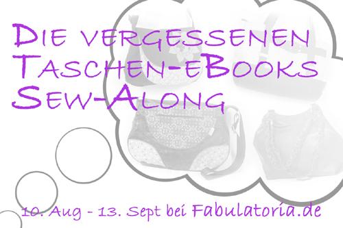 """Die vergessenen Taschen-eBooks"""" Sew-Along"""