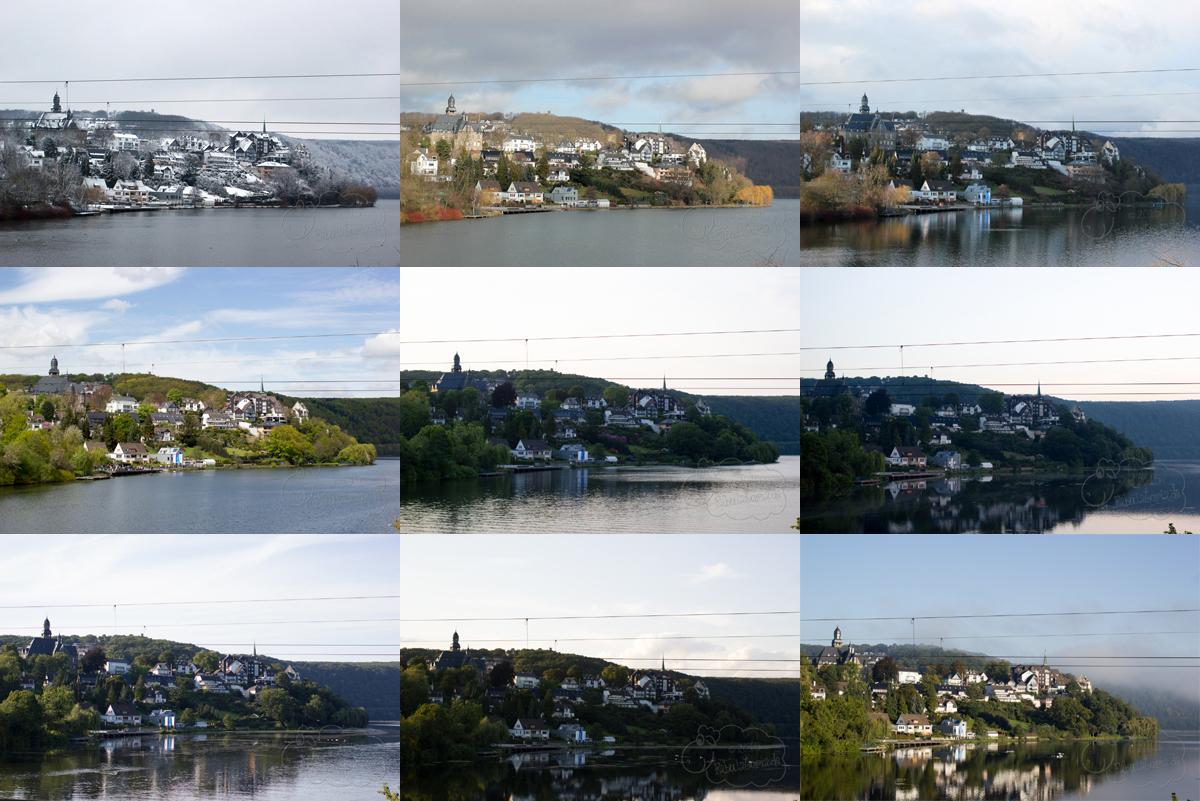 ein 12tel Blick: Der Harkortsee im September 2015