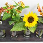 """<span class=""""werbung"""">Werbung</span><br />Mit Rotkäppchen Fruchtsecco eine herbstliche Vase gestalten (DIY-Bastelanleitung)"""