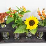 Mit Rotkäppchen Fruchtsecco eine herbstliche Vase gestalten (DIY-Bastelanleitung)