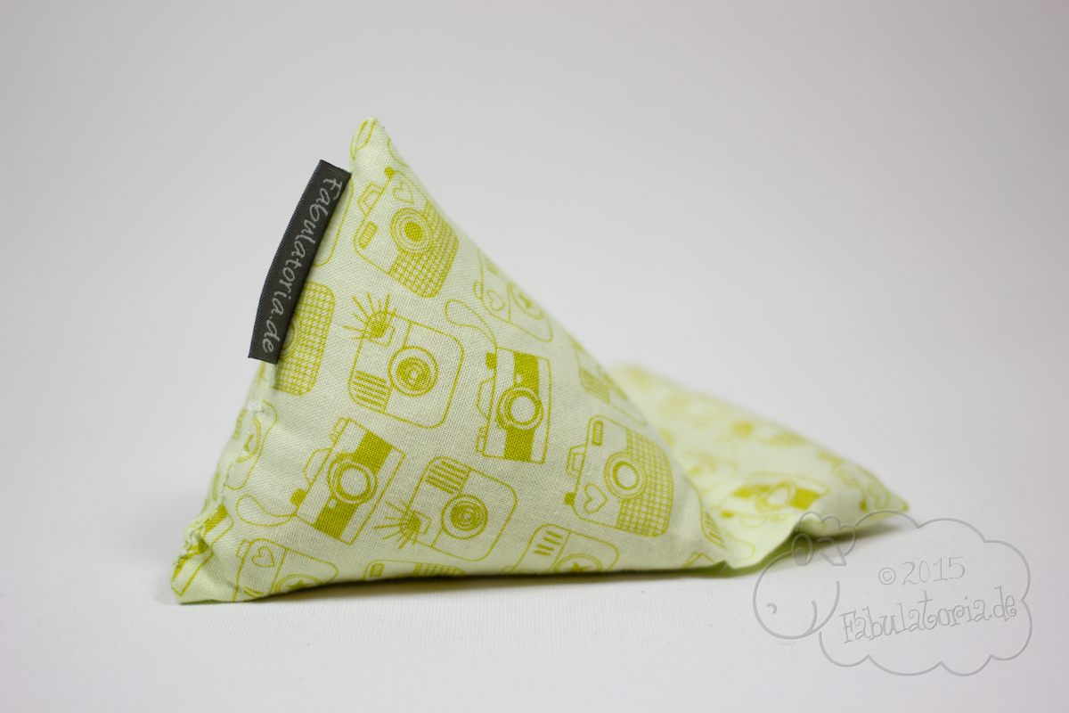 Handysitzsack aus beschichteter Baumwolle und neue Gurtbänder