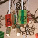 Adventskalender DIY mit Streichholzschachteln und Wertmarken (DIY-Bastelanleitung)