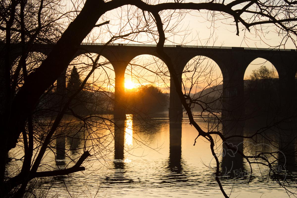 ein 12tel Blick: Der Harkortsee im Dezember 2015
