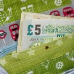 Ein kleines Portemonnaie für London