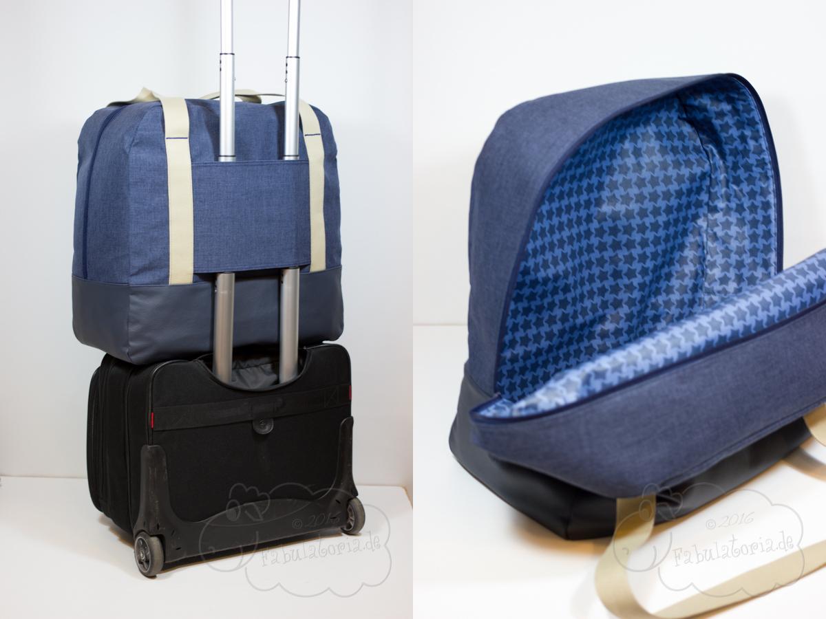 Taschenspieler 3 Sew-Along – Reisetasche XXL