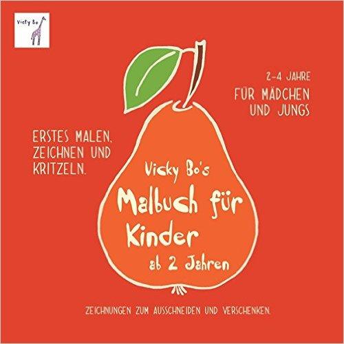 Rezension: Vicky Bo's Malbuch für Kinder ab 2 Jahren