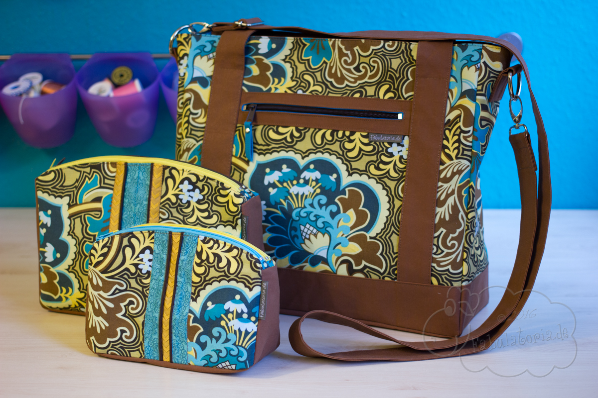 Sew Sweetness Blogtour – Tudor Bag und Filigree Double-Zip Pouch
