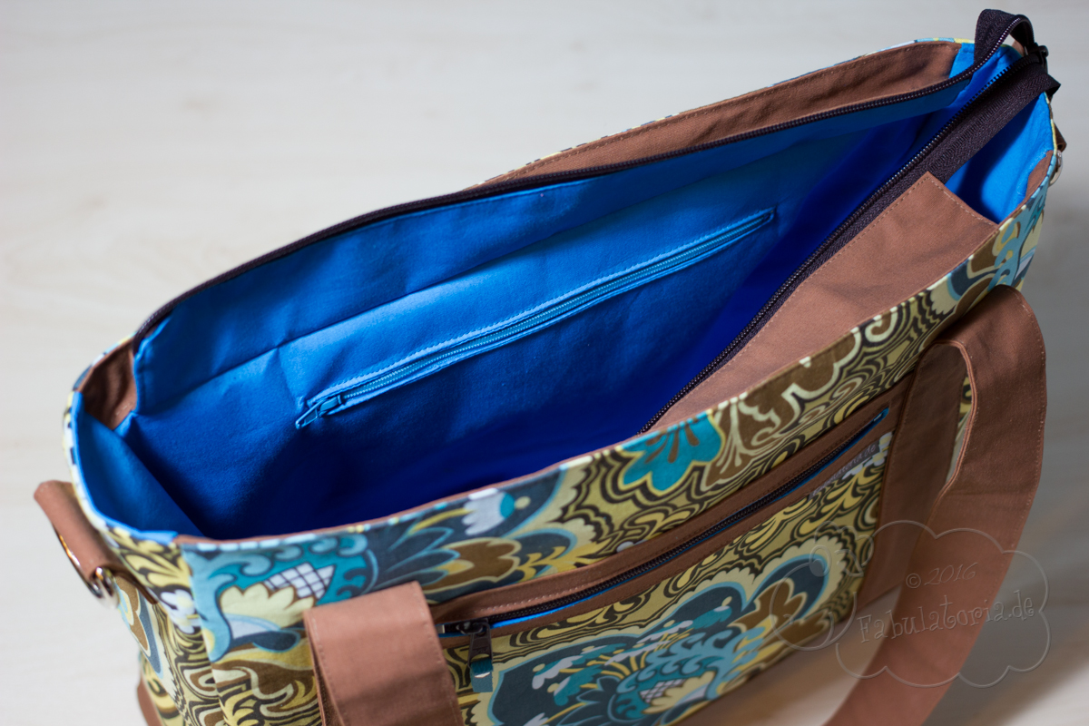 Sew Sweetness Blogtour - Tudor Bag und Filigree Double-Zip Pouch