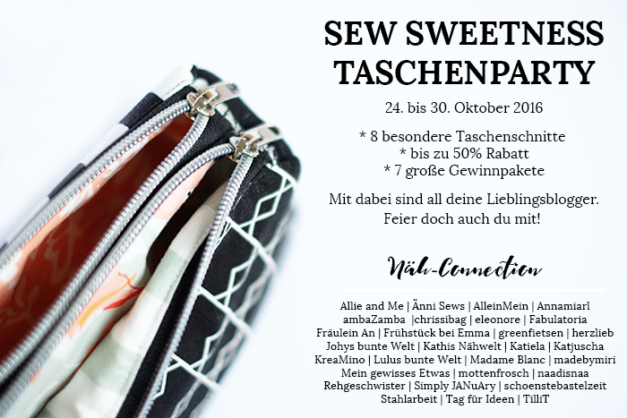 Sew Sweetness Taschenparty