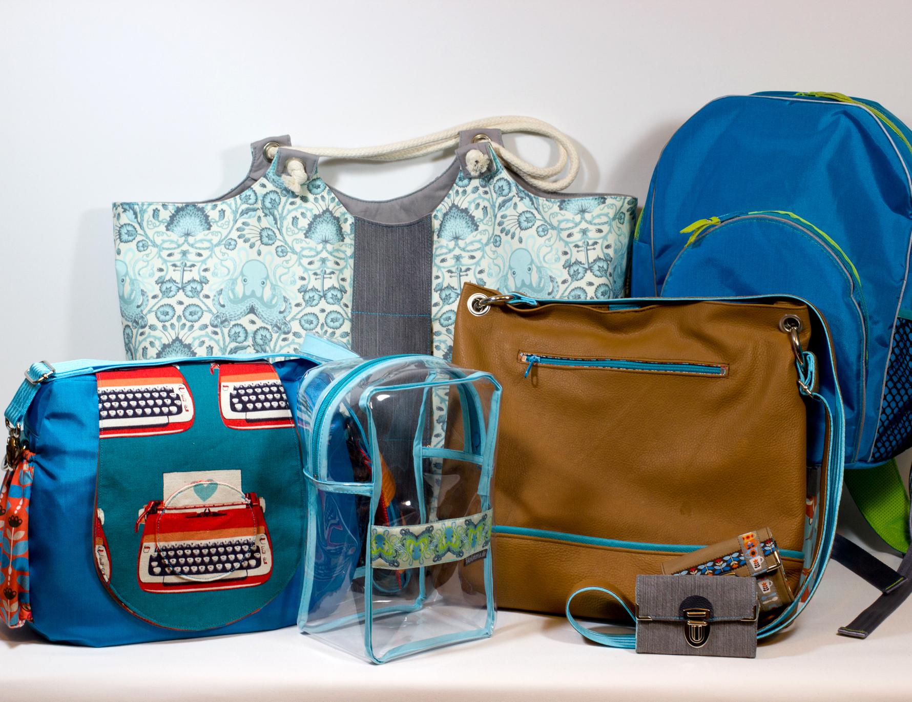 5 Wochen die vergessenen Taschen-eBooks Sew-Along 2