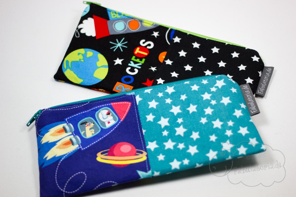 Federmäppchen für Kinder oder Kosmetiktäschchen in zuckersüßen Designs