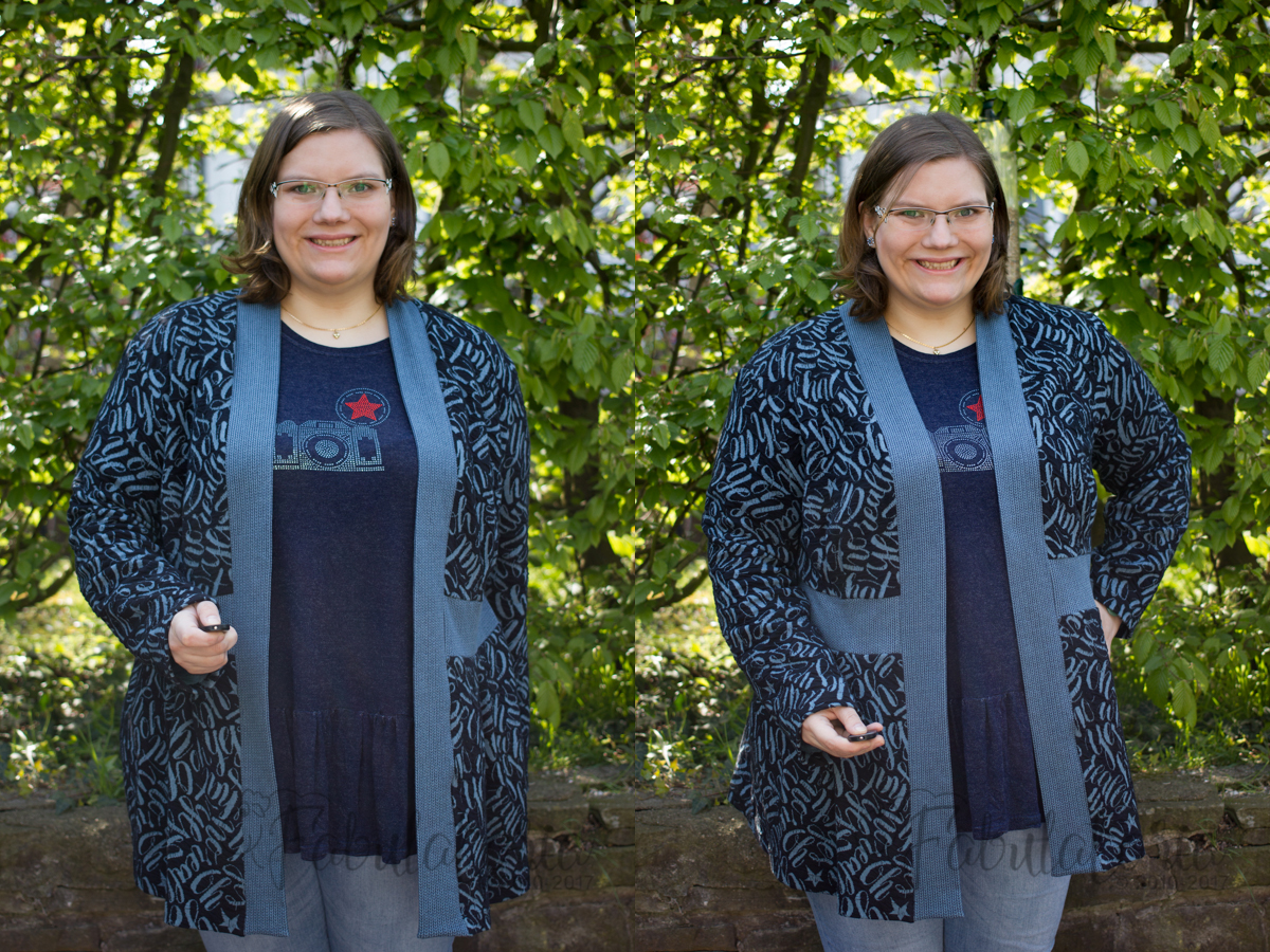 Paro Cardigan und Waterfallraglan-Shirt - Die perfekte Kombination