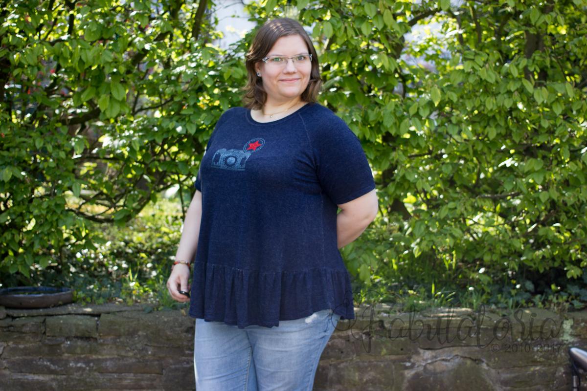 Paro Cardigan und Waterfallraglan-Shirt - Die perfekte Kombination