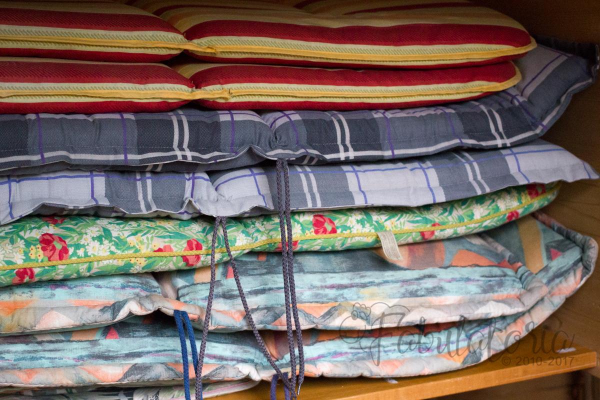 Sitzpolster für Gartenstühle fit für den Sommer - Teil 1: Stoffauswahl