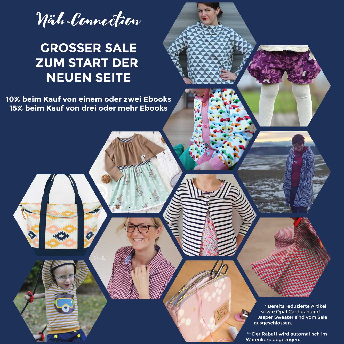 Großer Näh-Connection Sale